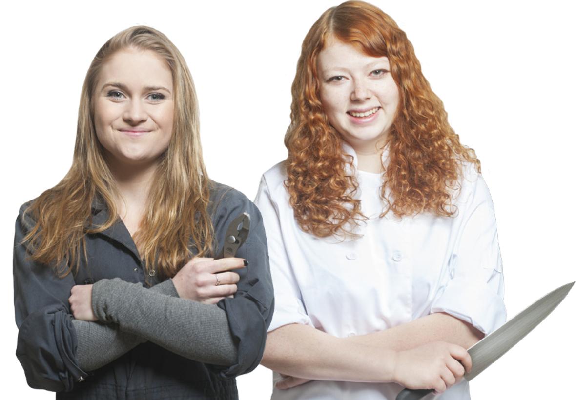 Hannah and Isabella
